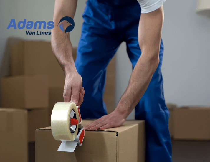 Adams van lines - miami packing services