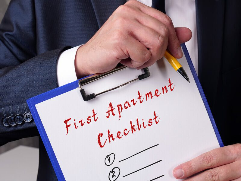 First Apartment Checklist By Moving Experts 2021's